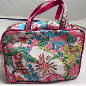 Lilly Pulitzer Target multi travel cosmetic bag